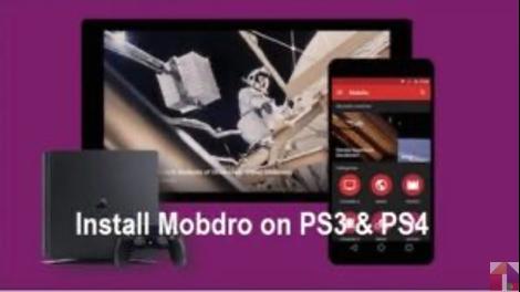 Aplicativo de Mobdro Para PS3 e PS4