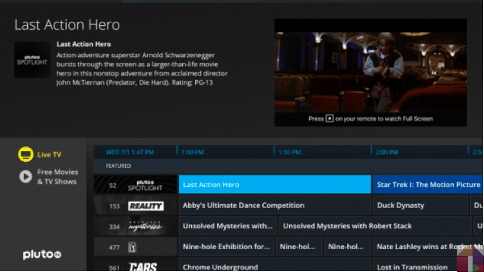 Baixar Pluto TV