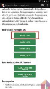 Instalar Mobdro Para Android